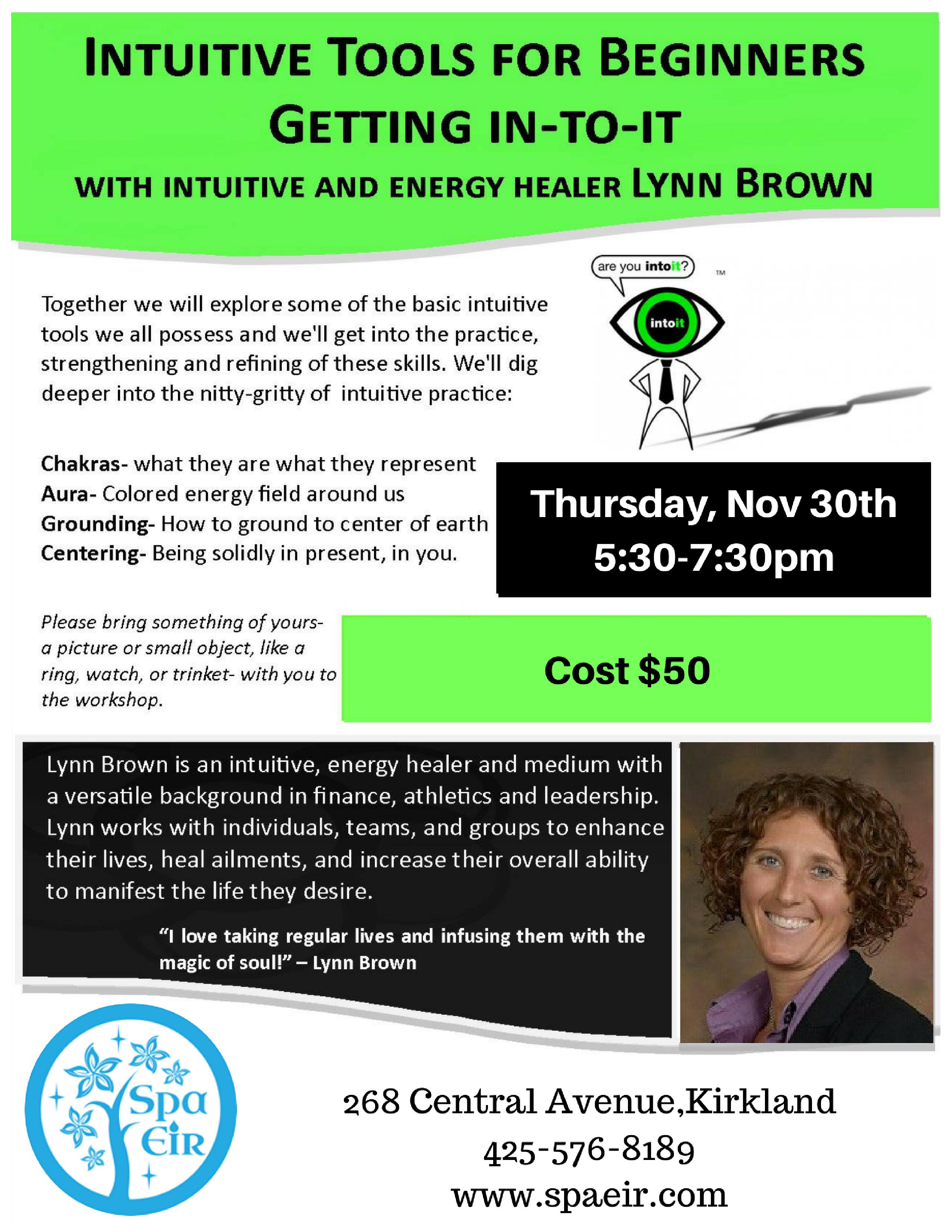 Lynn M Brown event november 30