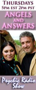 Angels and Answers Psychic Radio Show featuring Artie Hoffman and Sky Siegell