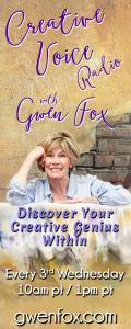 Creative Voice Radio with Gwen Fox: Discover Your Creative Genius Within