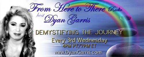 From Here to There Radio with Dyan Garris: Demystifying the Journey: Achieving Happiness with Diane Wing & Good Vibrations: The Healing Power of the Drum with Will Clipman