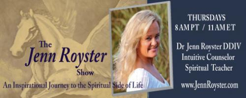 The Jenn Royster Show: Dr Jenn Channels Paintings of Intuitive Angel Readings