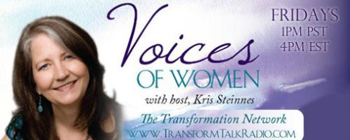 Voices of Women with Host Kris Steinnes: Melissa Wadsworth and Elisa Romeo, discussing the topic of Intuition.
