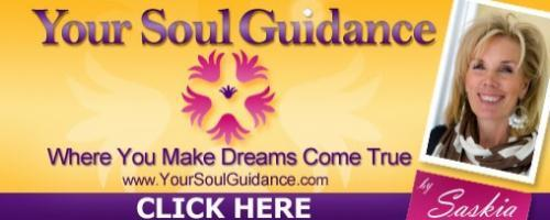 "Your Soul Guidance with Saskia: talks with Melissa Joy about ""Connecting to infinite possibilities through Matrix Energetics."""